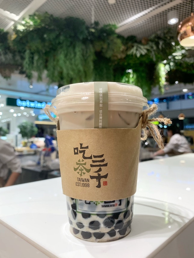 Dong Ding Oolong Fresh Milk Tea with Pearls