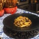 Mushroom Aglio Olio ($16)