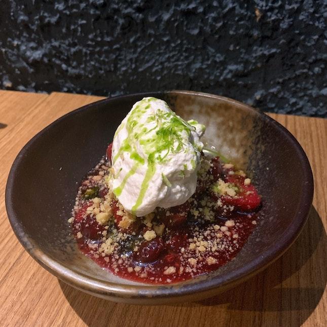 Berries & Cream ($12+)