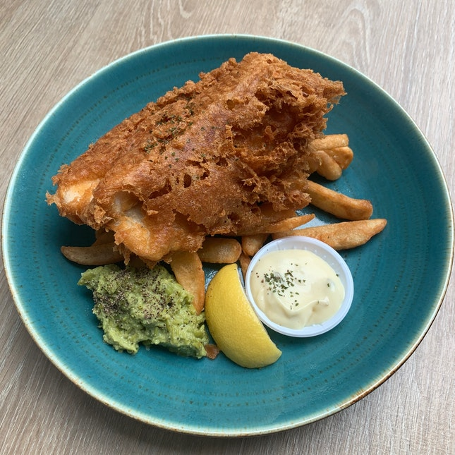 Fish & Chips ($18)