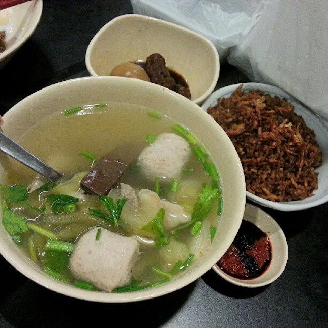 Pork Soup with Yam Rice #food #foodporn #foodie #foodspotting #instafood  #pork #dinewithannna #takepicha  #instaspammer #instadaily #instafreak #instaphoto