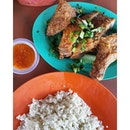 Segambut Fried Chicken Rice yang sedaps sekali.