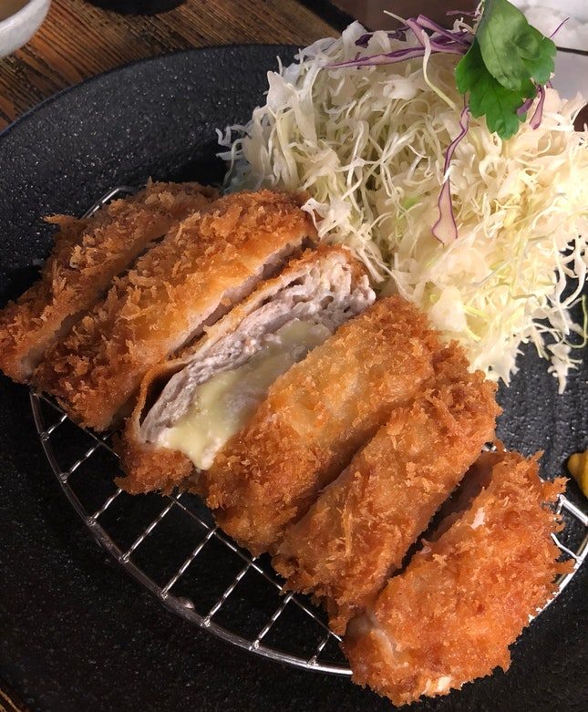 Mille-feuille Pork Katsu with Cheese