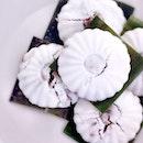 One of my fav WHITE local food - Kueh Tu Tu! U like it too?