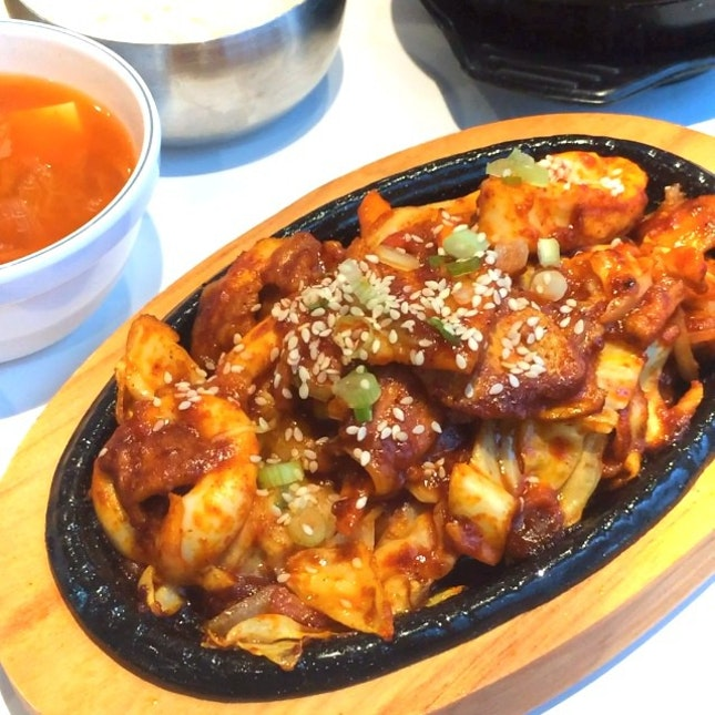 Delicious cheap Korean BBQ for $14.90!