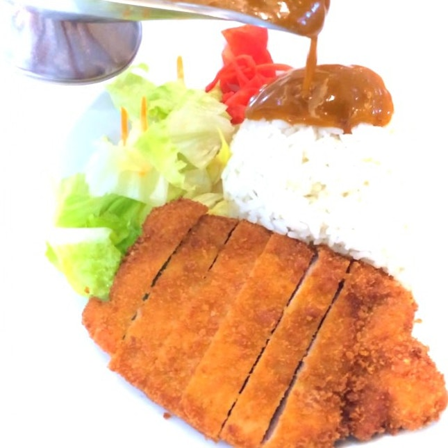 The Japanese Curry Shop, but the pork rusu is so tender and curry delicious.