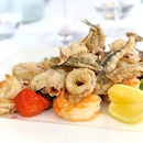 Craving for some Crispy Fried Seafoodlike Calamari and Truffles Aroma French Fries?