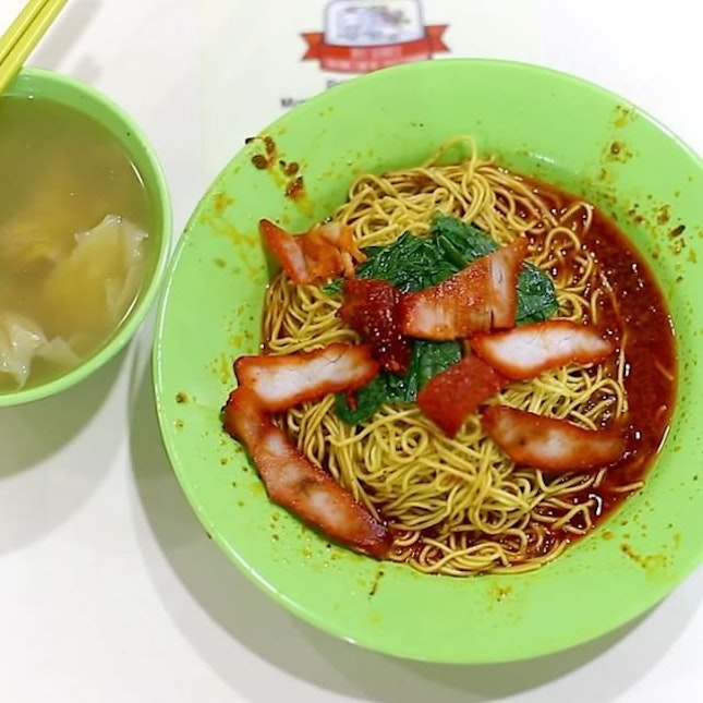 Old school Wanton Mee is my all-time favourite.