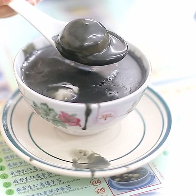 It is 元宵節 today, kind of a Chinese Valentine's Day, and the dessert shop RAN OUT of 湯圓 rice dumplings.