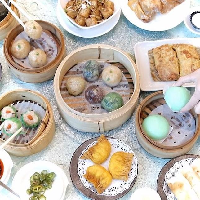 Teochew Dim Sum feast at Swatow Garden.