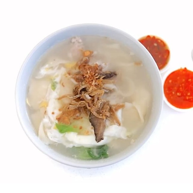 """Those who stay Bedok told me this is a """"die die must try"""" Ban Mian."""