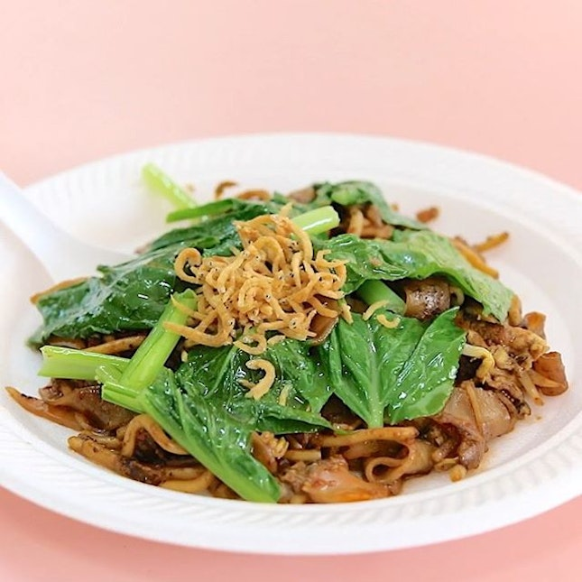 A 'healthy' plate of Char Kway Teow?