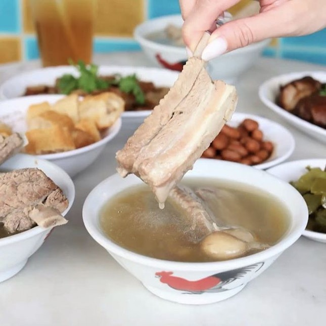 One of Singapore's most famous Bak Kut Teh, also awarded with a Michelin Bib Gourmand.