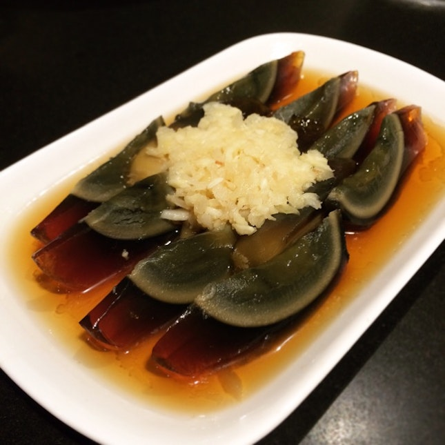 Century Egg With Diced Ginger