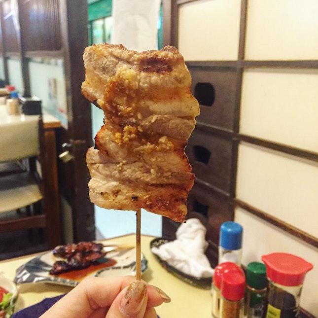 Buabara Kushiyaki (3 Sticks for $7.50)