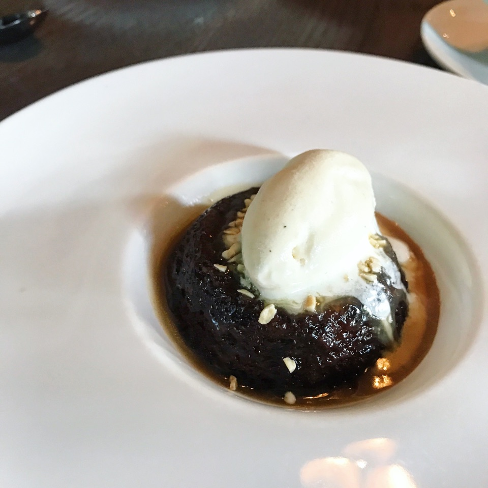 Sticky Toffee Pudding (Part of the Brunch menu)