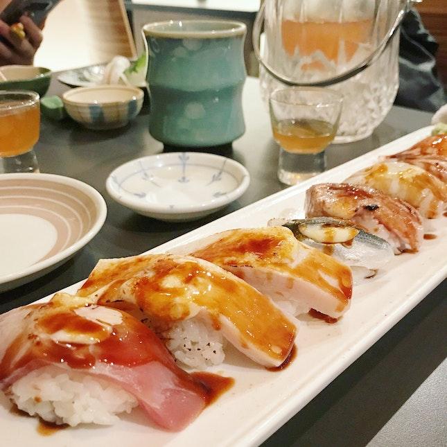 Aburi Sushi ($58)