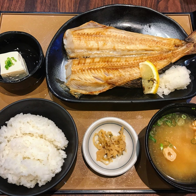 Shima Hokke Teishoku ($14.90)