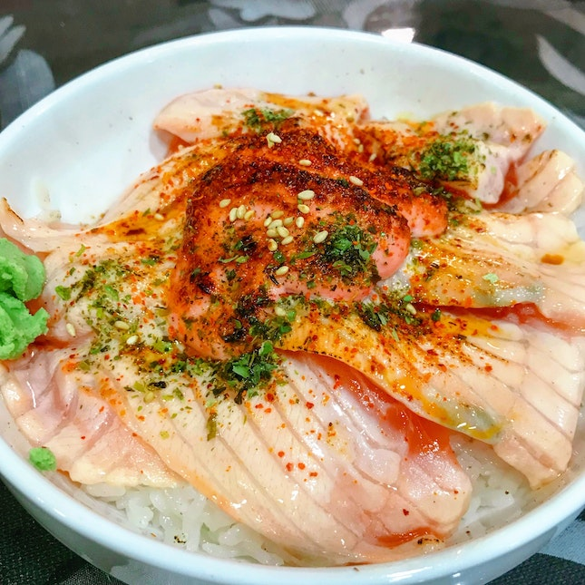 Salmon Mentai Don (Large: $14)