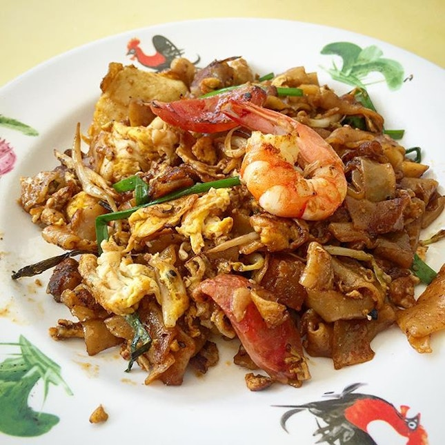 One of my favourite Char Kway Teow from old airport.
