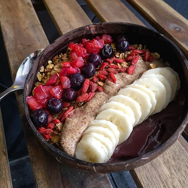 The Acai bowl from Coocaca.