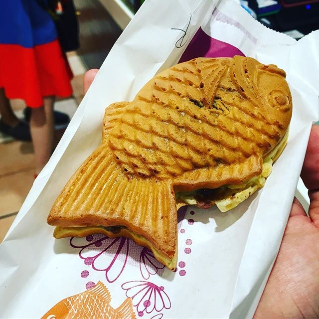 There are really very few places that sells Taiyaki in Singapore.