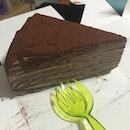 Chocolate Millie Crepe