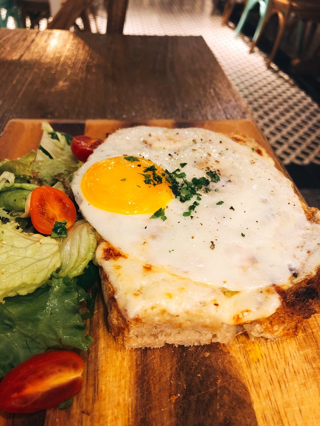 Yes Please Croque Madame