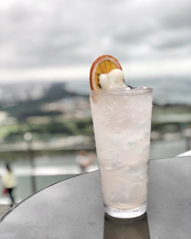 The greatest self is a peaceful smile, that always sees the world smiling back • 🍹: East Side - S$22++ 📍: @celavisingapore Singapore 📝: Min.