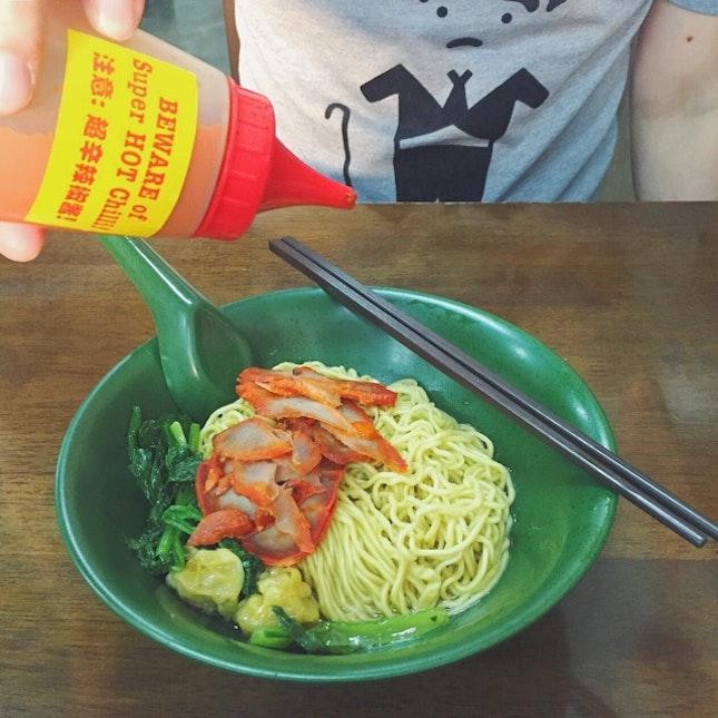 Wanton Noodles ($5.50 Portion)
