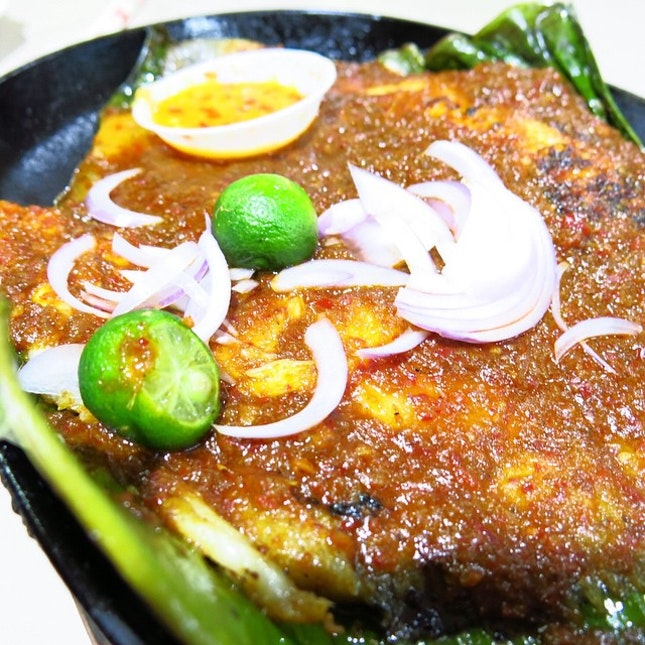 "[Fengshan Market & Food Centre] The quintessential item to order when at ""Bedok 85"" is a hotplate of Sambal Stingray ($12)."