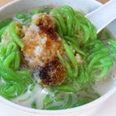 """Stumbled upon this coffeeshop besides the Changi Village Hawker Centre that has a huge banner screaming """"Traditional Cendol Melaka $1.50"""", hence thou shall not pass up the chance to have a bowl of dessert in this scorching weather."""