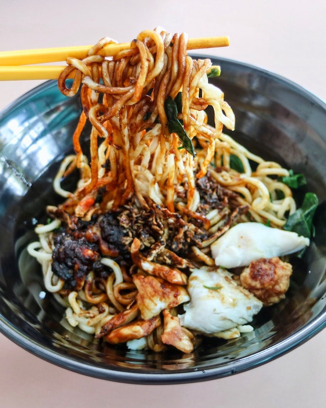 Whenever someone asks me to recommend a ban mian; without hesitation, I will immediately recommend them to try China Whampoa Home Made Noodles.