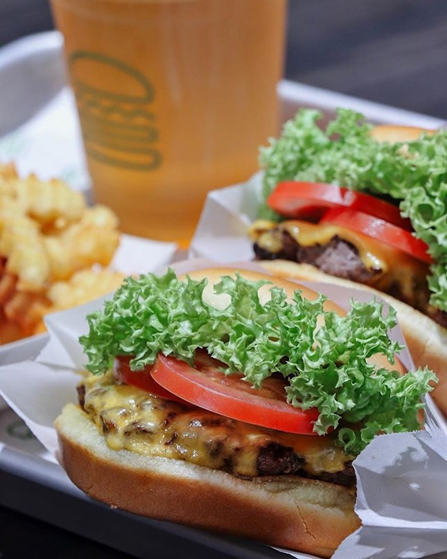Who's excited for Shake Shack?