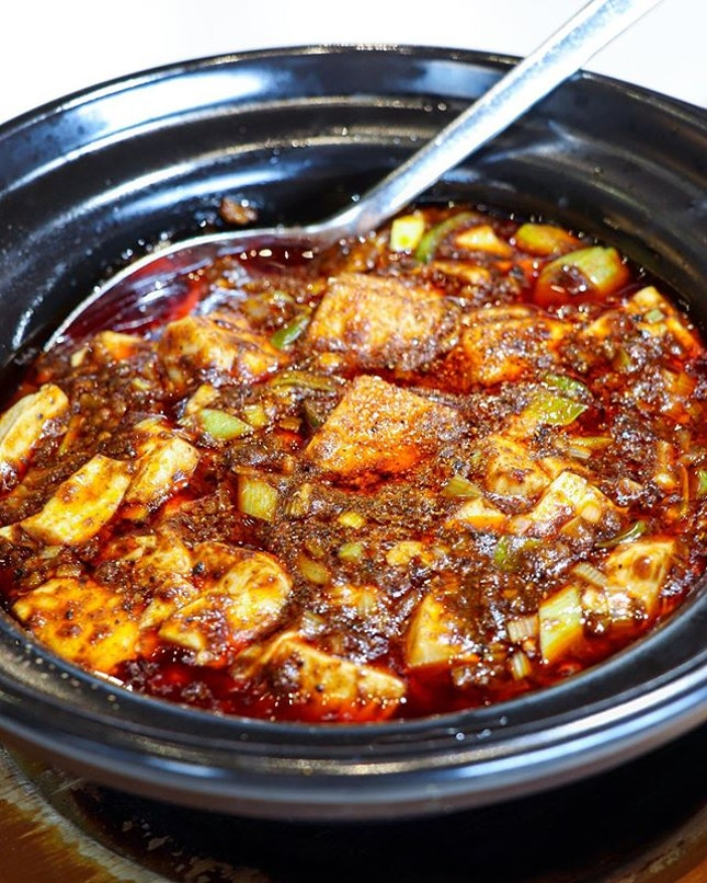 One of five restaurants that is currently holding the 2 stars MICHELIN in Singapore, Shisen Hanten is truly deserving of the accolades just from its signature Chen's Mapo Tofu ($26) alone.