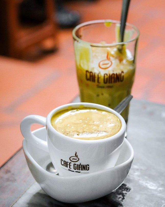 Originated right here in Hanoi, Vietnam's famous egg coffee can be ordered throughout the city but the one place that is most famous for it is none other than Cafe Giảng.
