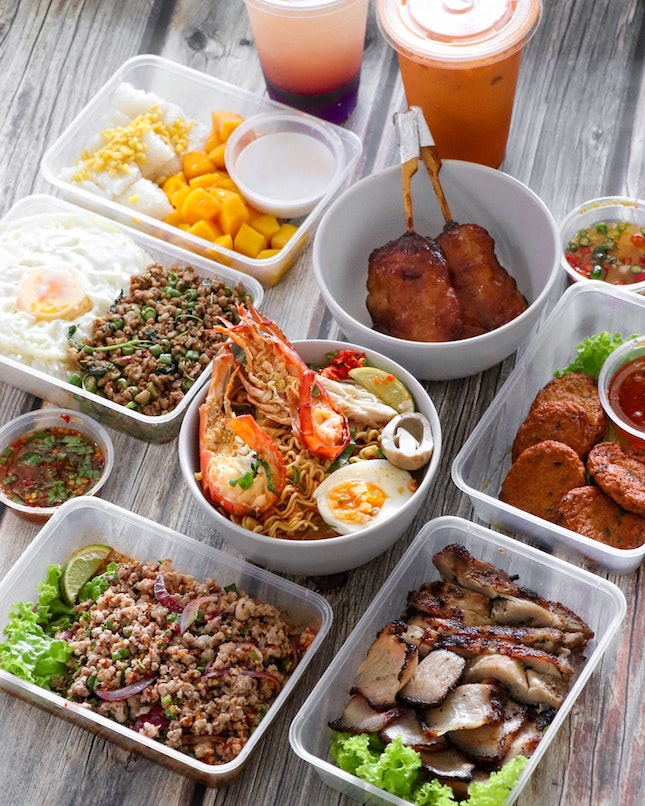 Fortunately during this circuit breaker, there are still many Thai food options that are available for takeaway or delivery and one of them is Soy Aroy.