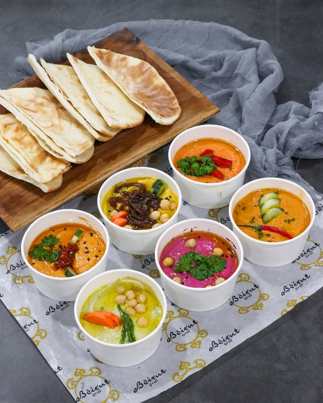 In conjunction of the 4th edition of Singapore Hummus Festival, it is a week-long occasion from now to 20 May to celebrate the wonderful spread that's hummus.