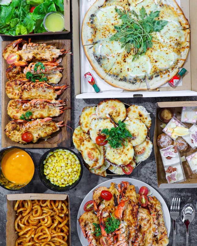 From bento boxes to set menu, the restaurant has launch this OnTheGo option to cater for takeaways and deliveries.