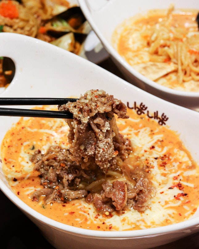 The popular fusion jjamppong restaurant in Singapore, Nipong Naepong, has a refreshed menu that includes a lineup of Ppongs that are topped with bulgogi beef to cater to the meat-lovers.