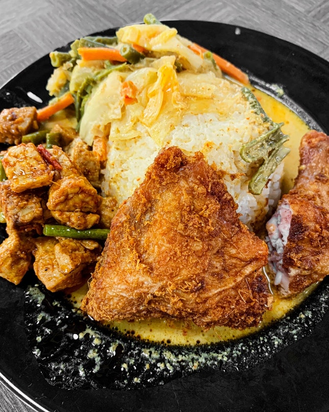 What's your usual nasi padang order?