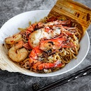 The modern prawn noodle restaurant, Ebi Bar, has recently launched a limited quantity and time only hokkien noodles fried with their signature umami prawn broth.