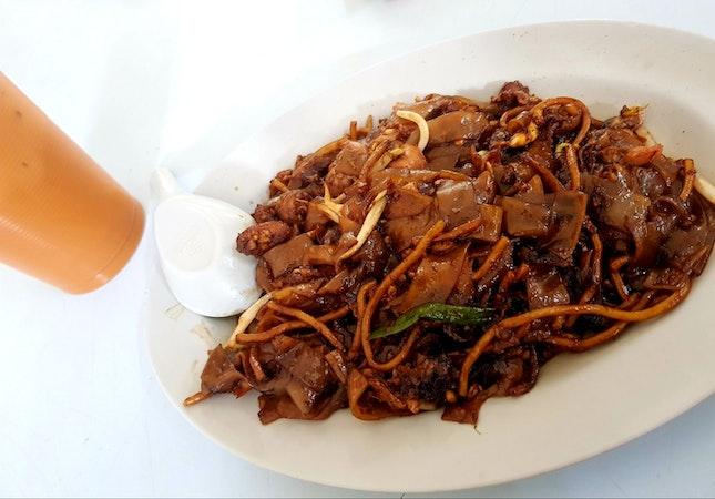 Stall 47 Wu Ba Ye Fried Hokkien Prawn Mee