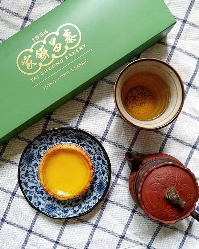 HK-Style Egg Tarts (11/10!!) One of my favourite HK style egg tarts.