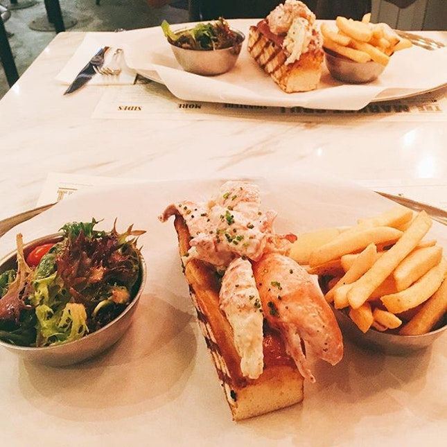 One each because these succulent lobster rolls are too good to be shared.