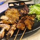 Beef, chicken, pork and prawns all in this scrumptious platter from Bangkok Jam.