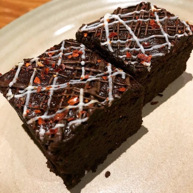 Peri peri brownie