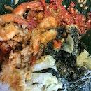 Udang Sambal & Mixed Vegetable Set