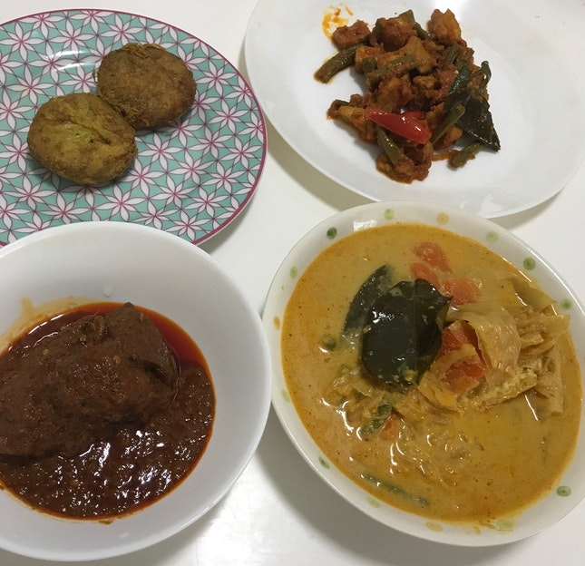Takeaway Nasi Padang 4 Dishes $10.50