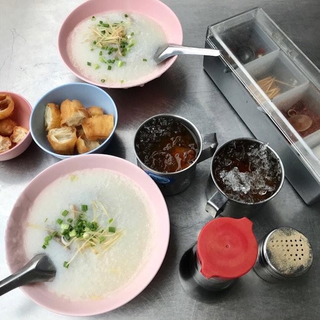 Congee & Dough Fritter